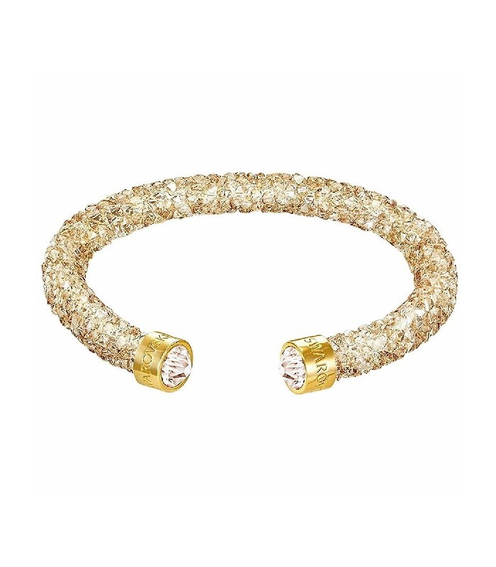 Crystaldust Cuff, Golden, Gold plating - 5255897